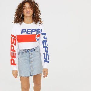 H&M Pepsi Crop Top